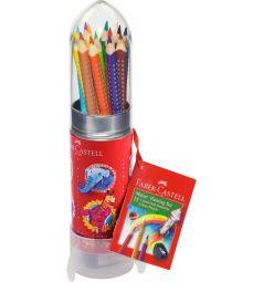 Карандаши цветные Faber-Castell Grip Ракета