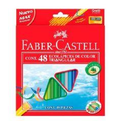 Карандаши цветные Faber-Castell ECO с точилкой