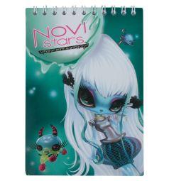 Блокнот А6 40 листов Action Novi Stars