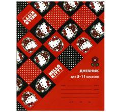 Дневник школьный А5 Action Hello Kitty для ст. клас. мат. ламинация фольга интегр. обл.