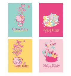 Блокнот А7 40 листов Action Hello Kitty