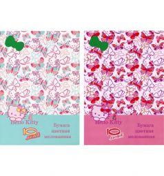Бумага цветная А4 10л Action Hello Kitty 10 цветов