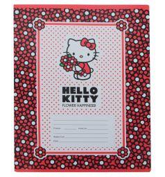 Тетрадь А5 18 листов клетка Action Hello Kitty