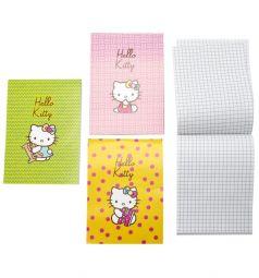 Блокнот А6 40 листов Action Hello Kitty