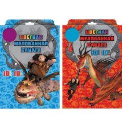 Бумага цветная А4 10л Action Dragons 10 цветов