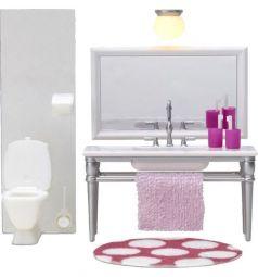 Мебель для куклы Lundby Ванная с 1 раковиной