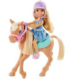 Кукла Barbie Челси и Пони 14 см