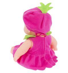 Кукла Игруша Пупс малиновый 20 см