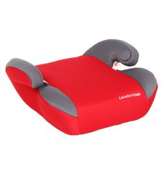 Автокресло-бустер Leader Kids Софт, цвет: красный/серый