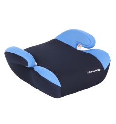Автокресло-бустер Leader Kids Софт, цвет: голубой/синий