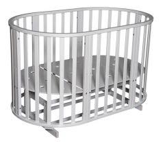 Кровать Антел Северянка-3, цвет: белый