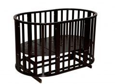 Кровать Антел Северянка-3, цвет: шоколад