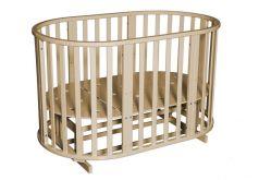 Кровать Антел Северянка-3, цвет: слоновая кость