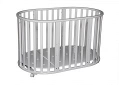 Кровать Антел Северянка-3.1, цвет: белый