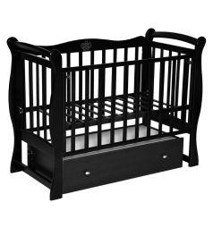 Кровать Антел Северянка-1, цвет: шоколад