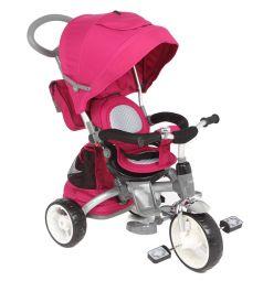 Трехколесный велосипед Capella Twist Trike 360, цвет: розовый