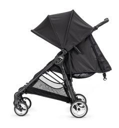 Прогулочная коляска Baby Jogger City Mini Zip, цвет: черный