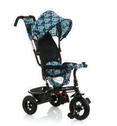 Трехколесный велосипед BabyHit Kids Tour XT, цвет: белый/синий