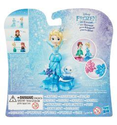 Кукла Disney Frozen Холодное сердце на движущейся платфоме Эльза 7.5 см