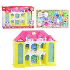 Дом для кукол Shantou Gepai двухэтажная свет+звук 31 см
