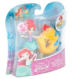 Кукла Disney Princess Принцесса плавающая на круге Ариель 8 см