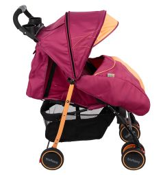 Прогулочная коляска BabyHit Simpy, цвет: orange wine