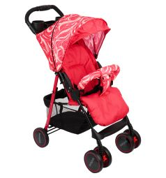 Прогулочная коляска BabyHit Simpy, цвет: red