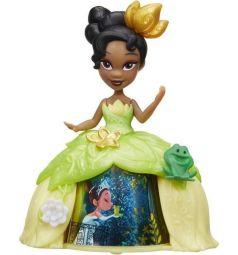Кукла Disney Princess Принцесса в платье Тиана в платье с волшебной юбкой 8.5 см