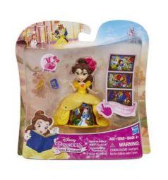 Кукла Disney Princess Принцесса в платье Белль в платье с волшебной юбкой 8.5 см