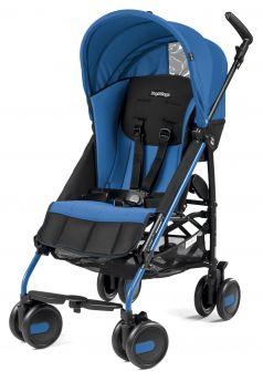 Коляска-трость Peg-Perego Pliko Mini, цвет: синий/черный
