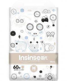 Подгузники-трусики Insinse V6 супертонкие (6-9 кг) 60 шт.