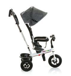 Трехколесный велосипед BabyHit Kids Tour XT, цвет: серый