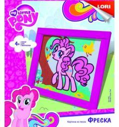 Картина из песка My Little Pony Милая Пинки Пай Фреска