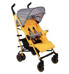 Коляска-трость BabyHit Handy, цвет: yellow/grey