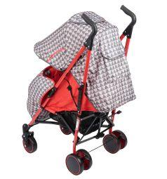 Коляска-трость BabyHit Handy, цвет: red/grey