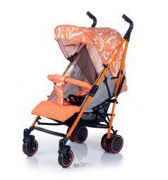 Коляска-трость BabyHit Handy, цвет: white/orange