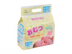 Подгузники Omutsu NB (0-5 кг) 30 шт.