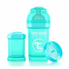 Бутылочка для кормления Twistshake антиколиковая полипропилен с 0 мес, 180 мл, цвет: бирюзовый