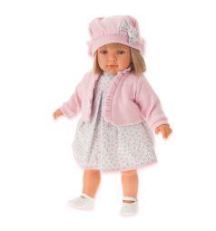 Кукла Juan Antonio Аделина в розовом 55 см
