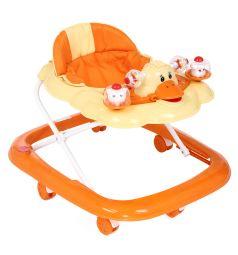 Ходунки Kids Glory FL-616E, цвет: оранжевый