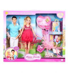 Игровой набор Defa куклы с аксессуарами