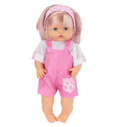 Кукла-пупс Tongde в розовом комбинезоне 39 см