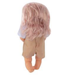 Кукла-пупс Tongde в коричневом комбинезоне 39 см
