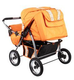 Коляска-трансформер Slaro Foxy Duo, цвет: оранжевый