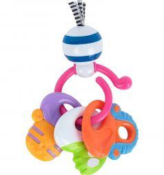 Погремушка прорезыватель Happy Baby Веселые ключи