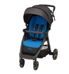 Прогулочная коляска Baby Design Clever New, цвет: Blue
