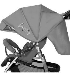 Прогулочная коляска Baby Design Mini New, цвет: pink