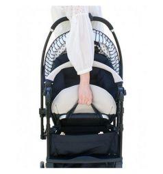 Прогулочная коляска Combi Mechacal Handy 4cas, цвет: бежевый