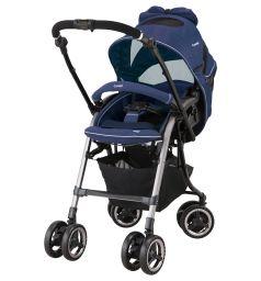 Прогулочная коляска Combi Miracle Turn Elegant II, цвет: синий