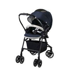 Прогулочная коляска Combi Mechacal Handy 4cas, цвет: темно-синий